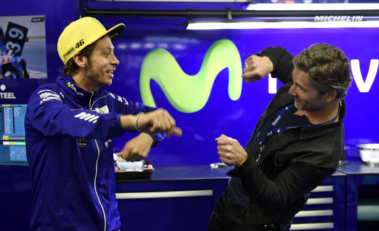 Eric Bana And Valentino Rossi In Silver Bullet Video For Michelin