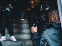 Branded Video Content Being Filmed