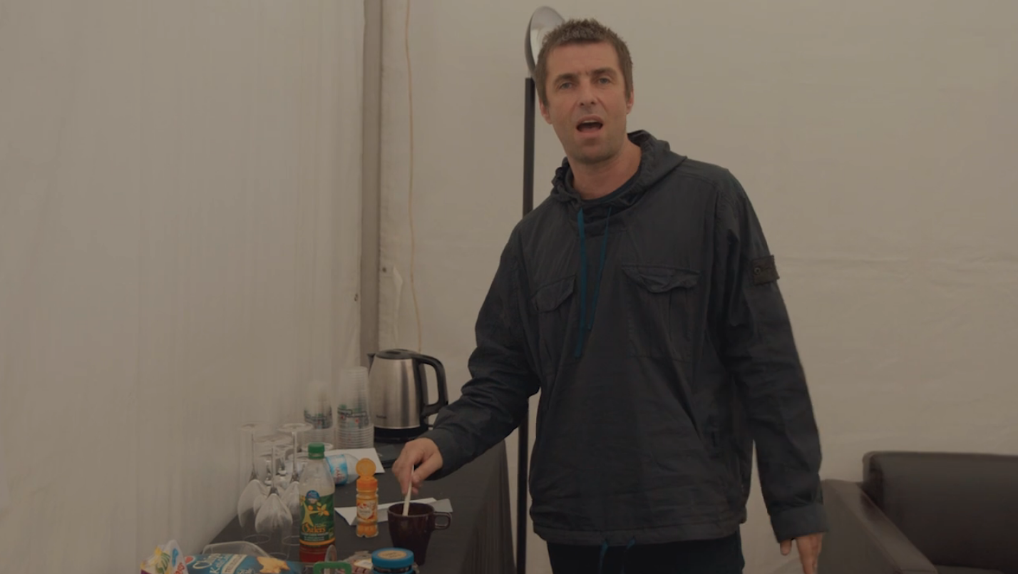 LIAM GALLAGHER – 'DEFINITELY MAKE TEA' NOMINATED FOR 'MOMENT OF THE YEAR'